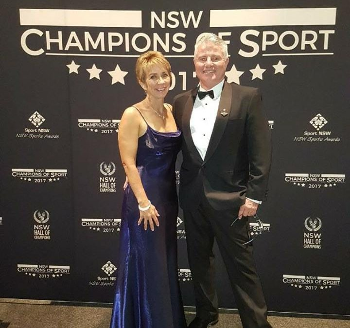 NSW Champions of Sport Awards.